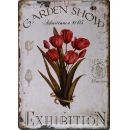 фото Картина на металле Феникс-Презент «Тюльпаны»