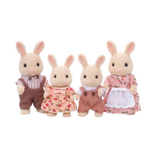 фото Набор игровой Sylvanian Families «Семья Молочных Кроликов»
