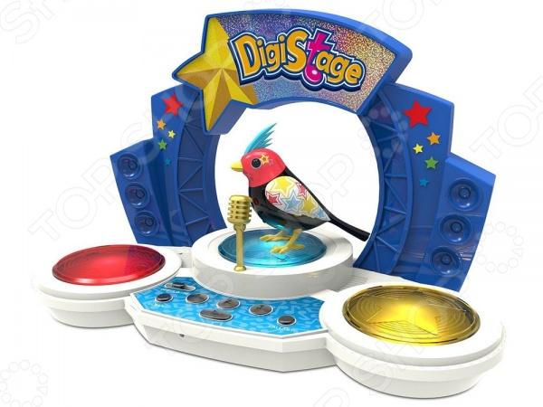 Игрушка интерактивная Digibirds «Птичка со сценой». В ассортименте