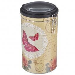 фото Емкость для сыпучих продуктов Феникс-Презент «Розовая бабочка»