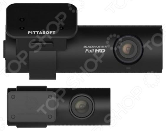 Видеорегистратор BlackVue DR650GW-FullHD-2CHВидеорегистраторы<br>Видеорегистратор BlackVue DR650GW-FullHD-2СH это миниатюрная модель, обладающая качественным объективом с углом обзора 129 по диагонали . Главной особенностью модели является наличие второй дополнительной видеокамеры, которую можно расположить в любом удобном для вас месте. Фирменное крепление позволяет очень легко и быстро закрепить регистратор на стекло. Из-за небольшого размера, прибор можно разместить за зеркалом заднего вида так, что он не будет мешать обзору. Встроенный микрофон будет полезен для записи разговора с сотрудником ДПС или с участниками ДТП. В видеорегистратор BlackVue DR650GW-FullHD-2СH встроен датчик удара G сенсор , благодаря которому файлы, полученные в момент резкого торможения автомобиля, перемещаются в отдельную папку для защиты от перезаписи. Датчик GPS обеспечивает высокую информативность, отображая скорость и координаты вашей машины. Беспроводной модуль Wi-Fi позволит просматривать отснятые регистратором материалы на разнообразных мобильных гаджетах.<br>