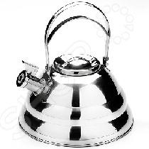 Чайник со свистком Mayer&amp;amp;Boch MB-24172Чайники со свистком и без свистка<br>Чайник со свистком Mayer Boch MB-24172 - выполнен из долговечной и прочной стали, которая не окисляется и устойчива к коррозии. Объем чайника составляет 3,5 литра, оснащен свистком, благодаря которому вы можете не беспокоиться о том, что закипевшая вода зальет плиту. Как только вода закипит - свисток оповестит вас об этом. Капсулированное дно с прослойкой из алюминия обеспечивает наилучшее распределение тепла. Чайник подходит для использования на всех типах плит. Удобный и практичный чайник отлично впишется в интерьер любой кухни. Также изделие можно мыть в посудомоечной машине.<br>