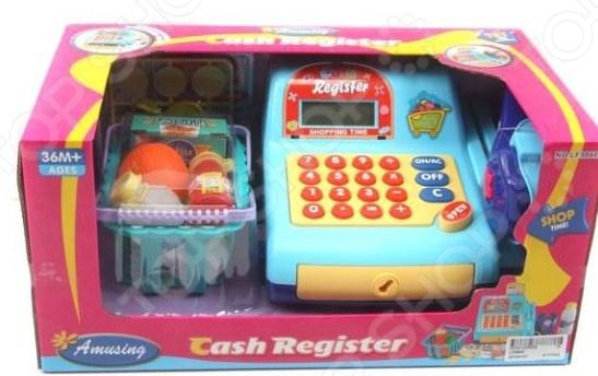 Касса игрушечная Shantou Gepai LF986EСюжетно-ролевые наборы<br>Касса игрушечная Shantou Gepai LF986E это интересная игрушка, которая понравится как мальчикам, так и девочкам, ведь жилка торговца может обнаружиться в любом человеке. С этой игрушкой ребенок почувствует себя за прилавком магазина, овощной лавки или супермаркета. Составьте компанию своему ребенку и попробуйте у него что-нибудь купить, это принесет в игру особый интерес. Игра с кассой развивает логическое мышление и мелкую моторику рук.<br>