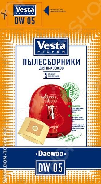 Мешки для пыли Vesta DW 05 мешки для пыли vesta bs 03 для bosch