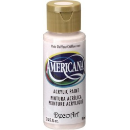 фото Краска акриловая DecoArt Премиум Americana. Цвет: розовый шифон