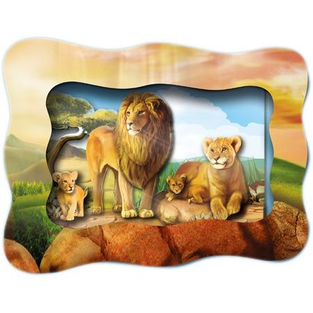 Купить Картинка объемная Vizzle «Львиное царство»
