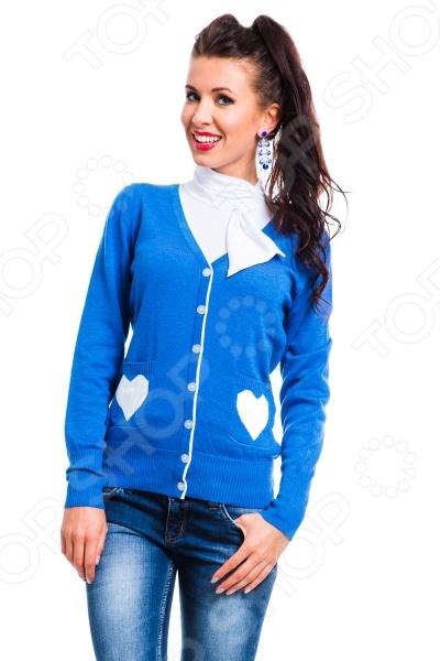 Жакет Mondigo 10015. Цвет: синий