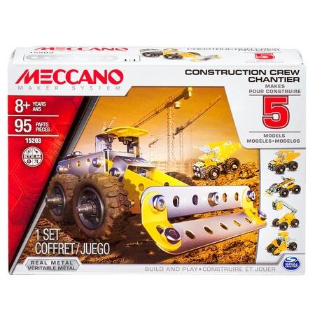 Купить Конструктор металлический Meccano «Набор строительной техники»