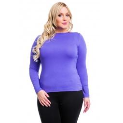 фото Кофта Mondigo XL 405. Цвет: ярко-сиреневый. Размер одежды: 52
