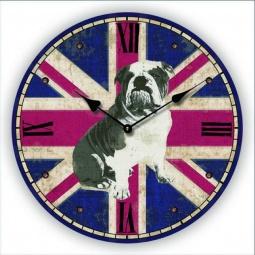 фото Часы настенные Феникс-Презент «Английский бульдог»