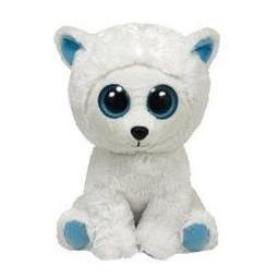 фото Мягкая игрушка TY Полярный медведь TUNDRA. Высота: 33 см