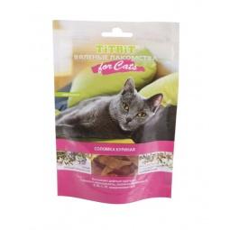 Купить Лакомство для кошек TiTBiT 5163 «Вяленая соломка куриная»