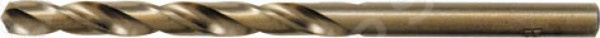 Сверло по металлу FIT Профи. HSS с добавкой кобальтаСверла<br>Сверло по металлу FIT Профи. HSS с добавкой кобальта предназначено для выполнения сквозных и глухих отверстий в легированной и нелегированной стали, сером чугуне, металлокерамическом сплаве на основе железа, ковком чугуне, цветном металле. Сверло изготовлено из высокопроизводительной быстрорежущей стали с 5 добавкой кобальта. Предназначено для профессионального использования. Оснастка имеет цилиндрический хвостовик. Работает в правом направлении.<br>