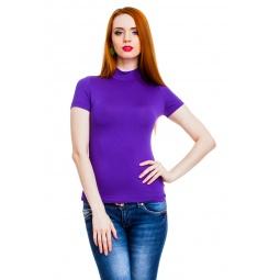 фото Водолазка Mondigo 037. Цвет: фиолетовый. Размер одежды: 42