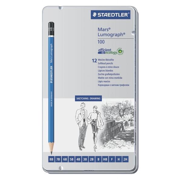 фото Набор простых карандашей Staedtler 100G12S