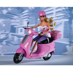 Купить Кукла штеффи на скутере Simba 5730282. В ассортименте