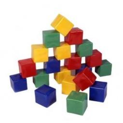 фото Кубики обучающие Строим вместе «Строитель»