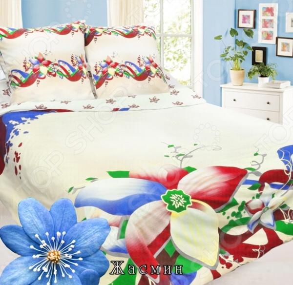 Комплект постельного белья Сова и Жаворонок «Жасмин». 1-5-спальный