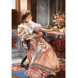 Купить Пазл 1500 элементов Castorland «Первые розы»