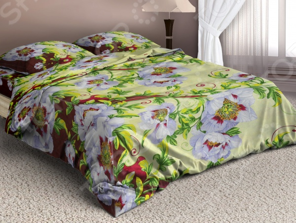 Комплект постельного белья Мар-Текс «Миледи». 1,5-спальный1,5-спальные<br>Здоровый и комфортный сон зависит не только от того насколько ваш матрас и подушка мягкие и удобные, но и, не в последнюю очередь, от того на каком постельном белье вы спите ежедневно. Очень важно при выборе постельного белья ориентироваться не только на его цену и яркий дизайн, но и на качество, и тонкость материала. Жесткие и плотные ткани, пусть даже и натуральные, не подходят для ежедневного использования, ведь они могут причинить коже удивительный дискомфорт, вызвав её покраснения и раздражения. Комплект постельного белья Мар-Текс Миледи яркий и оригинальный комплект постельного белья, выполненный из мягкой, шелковистой бязи. Этот высококачественный материал изготовляется из нитей 100 натурального хлопка и отличается свой прочностью, экологичностью и мягкостью. Он не будет вызывать раздражение или аллергию даже у самой нежной и чувствительной кожи. Легкая и гигроскопическая ткань практически не мнется, поэтому белье не собирается в грубые складки даже во время самого беспокойного сна, не подвержена образованию катышков. Этот комплект белья вас покорит, благодаря тому, что легко стирается и гладится. Он не растягивается и прекрасно держит свою форму даже после многократных стирок. Комплект постельного белья Мар-Текс Миледи отличается удивительной тонкостью и качеством, которое придает ему особую изысканность. Он не потеряет свой цвет и текстуру даже после многочисленных стирок. Интересный современный дизайн белья станет прекрасным дополнением интерьера любой комнаты. Чтобы постельное белье прослужило как можно дольше, его рекомендуется стирать при температуре 40 С без использования сильных отбеливающих веществ. Не стирайте белье с другими вещами. Чтобы рисунок сохранил свою яркость и насыщенность как можно дольше, стирайте и гладьте белье с изнаночной стороны.<br>