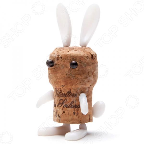 фото Декор для винной пробки Monkey Business Corkers Animals Кролик, Другие барные принадлежности