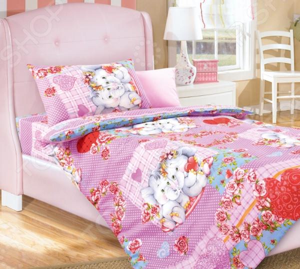 Ясельный комплект постельного белья Бамбино «Умиление» Бамбино - артикул: 714240