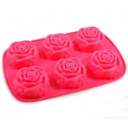 Купить Форма для выпечки силиконовая Regent Розочки