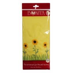 фото Полотенце гладкотканое BONITA «Подсолнухи». Цвет: желтый