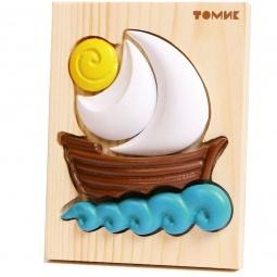 фото Пазл для малышей Томик «Кораблик» 421