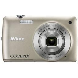 фото Фотокамера цифровая Nikon CoolPix S4300. Цвет: серебристый