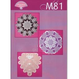 Купить Набор схем для парчмента Pergamano M81 Яркие работы в белом цвете