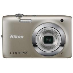 фото Фотокамера цифровая Nikon CoolPix S2600. Цвет: серебристый. Рисунок: нет