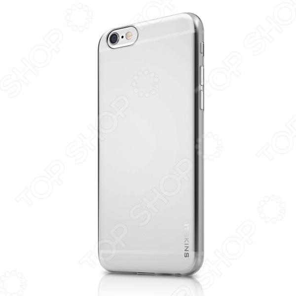 Чехол для iPhone 6 Plus ITSKINS Pure IceЗащитные чехлы для iPhone<br>Чехол для iPhone 6 Plus ITSKINS Pure Ice - это не только модный, но и практичный аксессуар для вашего гаджета. Модель выполнена в стильном дизайне, и позволит подчеркнуть образ и индивидуальность своего обладателя. Такой чехол надежно защитит смартфон от случайных механических повреждений, царапин, ударов, а так же от попадания жидкости и пыли. Чехол выполнен из качественного материала прочного и приятного на ощупь. Чехол надежно защитит заднюю и боковые стенки смартфона, при этом, обладая всеми необходимыми отверстиями - обеспечит свободный доступ к кнопкам и разъемам. Яркий и оригинальный чехол - отличный способ изменить дизайн вашего гаджета.<br>