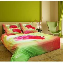 фото Комплект постельного белья Buenas Noches Alaya Roza. Satin Fotoprint. Евро