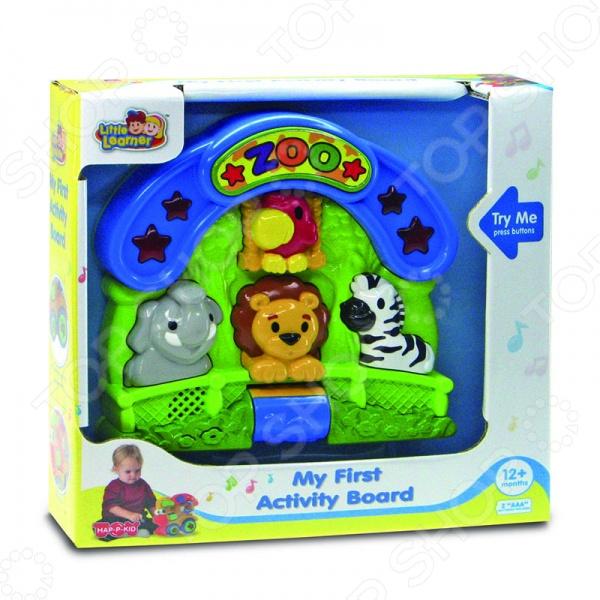 фото Игрушка развивающая Happy kid «Зоопарк», Другие развивающие игрушки и игры