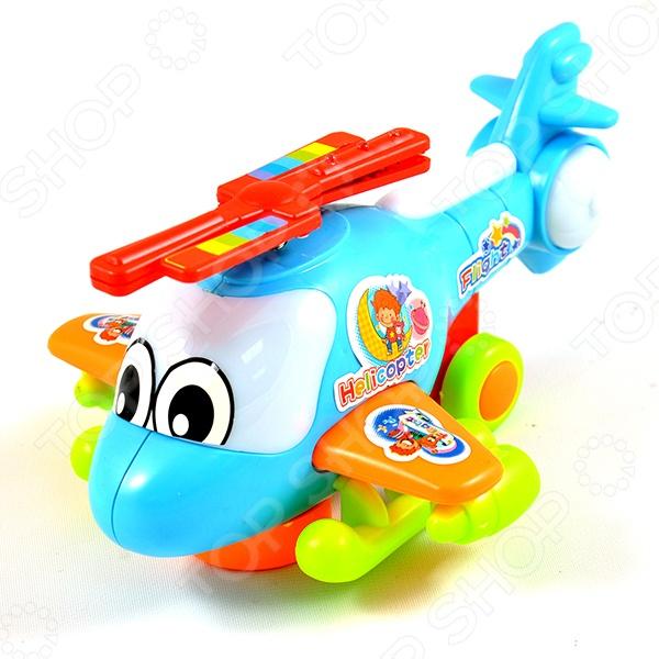 Игрушка музыкальная «Вертолет». В ассортименте    /