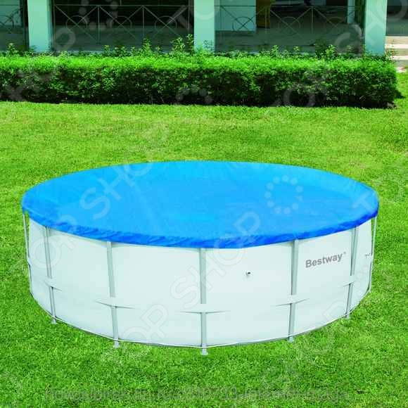 Чехол защитный для бассейна круглого на стойках Bestway 58134 baster доска на стойках цветная