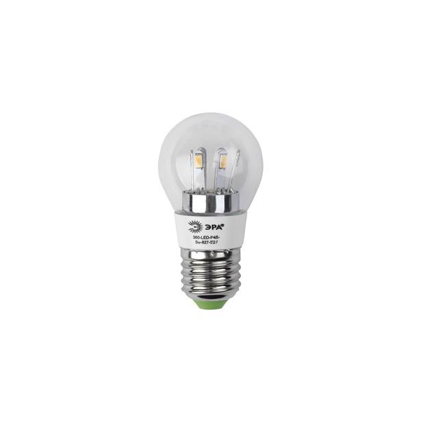 фото Лампа светодиодная Эра P45. Цветовая температура: 2700К. Цоколь: E27