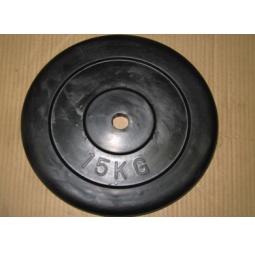 фото Диск обрезиненный Alex RCP D 25. Вес в кг: 15 кг