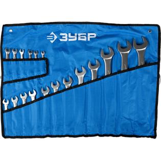 Купить Набор ключей комбинированных Зубр «Мастер» 27087-H18