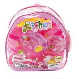 фото Набор посуды игрушечный Shantou Gepai в рюкзаке 629151