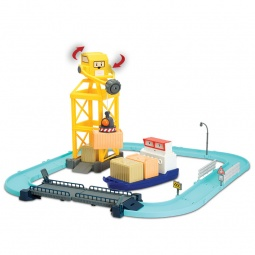 фото Набор игровой с фигуркой Keenway «Порт с разводным мостом»