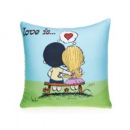 фото Подушка декоративная Love is... «Heart»