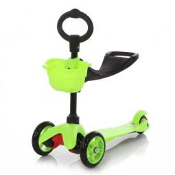 фото Самокат трехколесный MaxiScooter 21st scooter. Цвет: зеленый
