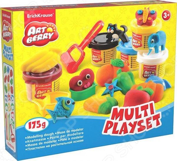 Пластилин на растительной основе Erich Krause Multi Playset
