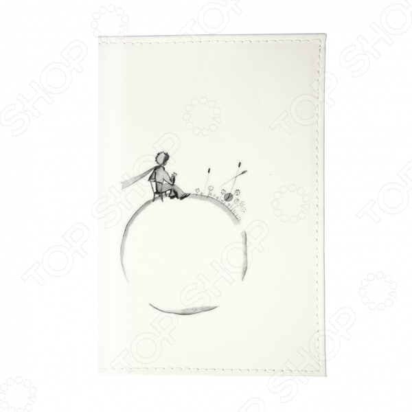 Обложка для паспорта Mitya Veselkov «Маленький принц - силуэт» обложка для автодокументов mitya veselkov маленький принц силуэт