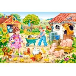 Купить Пазл 40 элементов Castorland «Ферма»