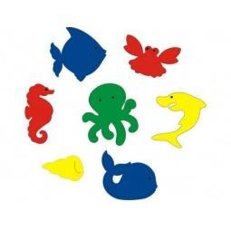 фото Набор для ванны Флексика «Подводный мир»