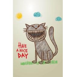 фото Утренний кот. Блокнот для записей