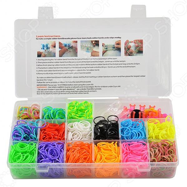 Набор для создания браслетов Shantou Gepai D150 bondibon набор для создания бус и браслетов королева бусинка